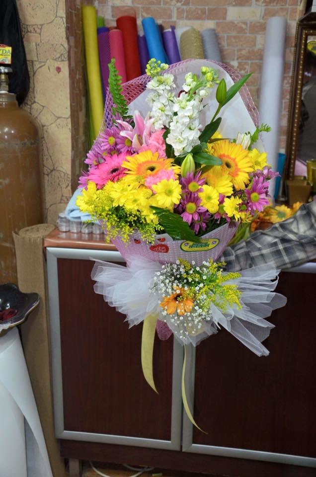 Kırçiçeği buketi